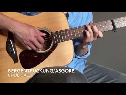 Undertale - Bergentrückung/ASGORE (Solo Acoustic Guitar)