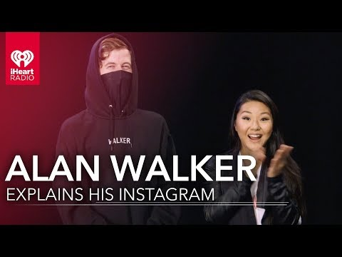Alan Walker Explains His Instagrams