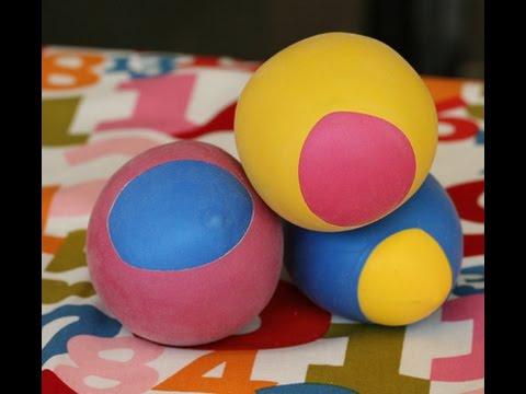 How To Make Balloon and Flour Balls - YouTube