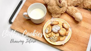 Easy Homemade Butter Cookies Recipe Relaxing Piano Studio Ghibli Music for Studying  Totoro