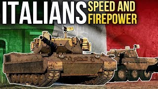 Italian ground forces: speed and firepower / War Thunder
