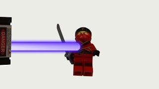 Experiment Worlds Most Powerful Laser vs Lego Ninjago Kai | The Crusher thumbnail