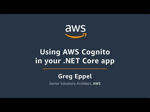 Using AWS Cognito in your .Net Core App