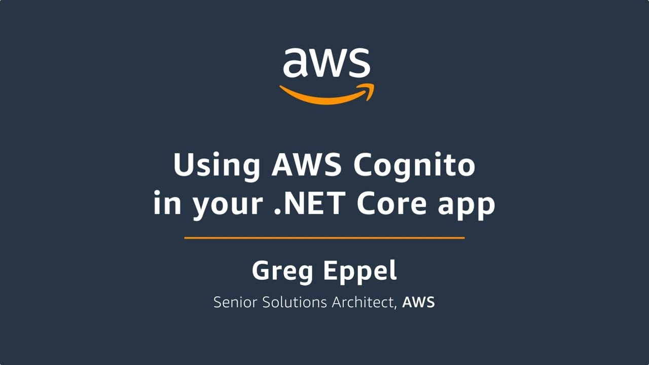 Using AWS Cognito in your  Net Core App