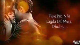 Dholna (tere bin nahi lagda dil mera) | Animated Love Song | Rahul Makhija