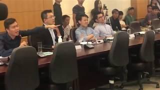 南區區議會建制派製造流會 阻止討論反送中動議