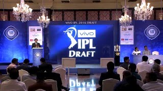 IPL 2016 Player Draft   MS Dhoni goes to PUNE
