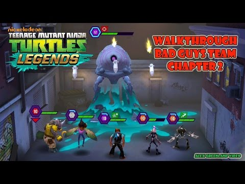 TMNT Legends - Walkthrough - Bad Guys Team - Chapter 2