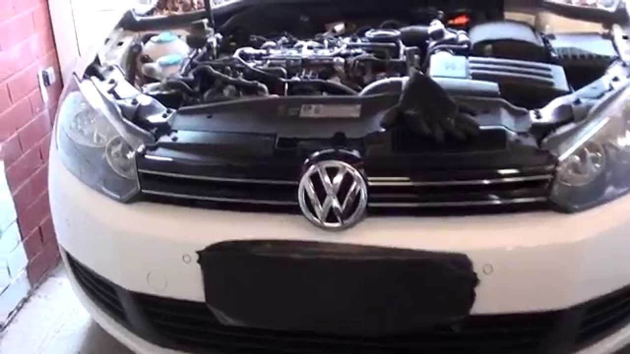 vw golf mk6 fuel filter location 2008 2013 youtube. Black Bedroom Furniture Sets. Home Design Ideas