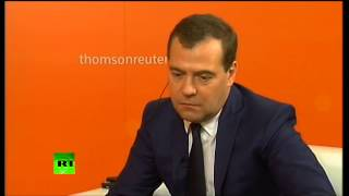 Медведев: Когда Асад вспоминает судьбу Каддафи, настроение у него не улучшается