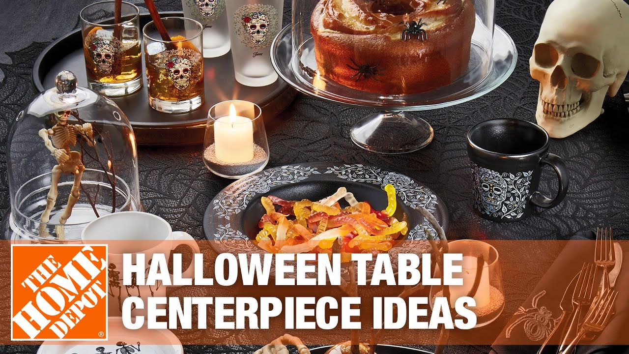 Halloween Table Centerpieces The Home Depot
