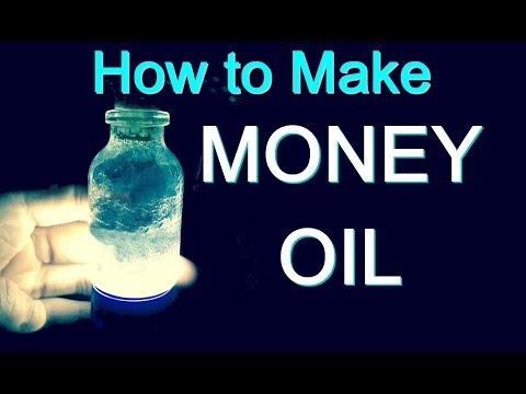 MONEY OIL RECIPE TO ATTRACT MONEY Revealed by a Real Witch