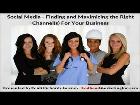 Finding and Maximizing the Right Social Media Channels for your Business