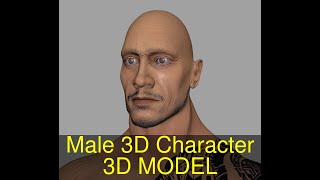 3D Model of Male 3D Character Review