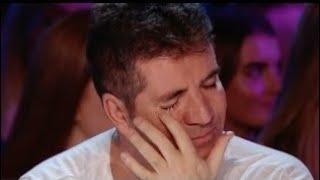 His voice is so emotional that even Simon started to cry ( the x factor UK ) 2018
