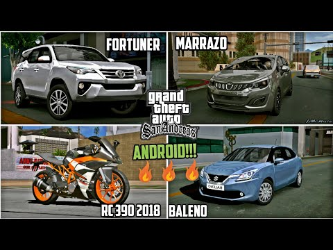Exclusive Premium Pack [40MB]| Toyota Fortuner |Mahindra Marrazo | KTM RC  200 & 390 | GTA SA Android
