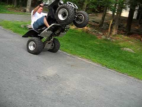 2005 Yamaha Banshee Wheelie Youtube