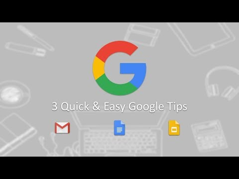 Quick Google Tips