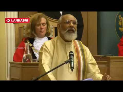New ties for borough as Kingston twins with Jaffna | CM Vigneswaran Speech