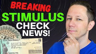 BREAKING NEWS! Second Stimulus Check Update!
