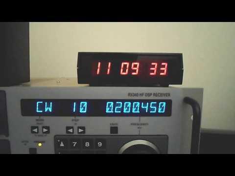 Longwave Radio DX : Beacon UAB 200 KHz, BC to S. CA