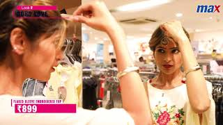 RJ Shruthi Gets a Summer Makeover at Max Fashion