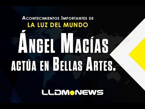 Ángel Macías actúa en Bellas Artes.