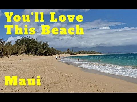Baldwin Beach Paia Maui. North Shore Maui. Near Mamas Fish House.