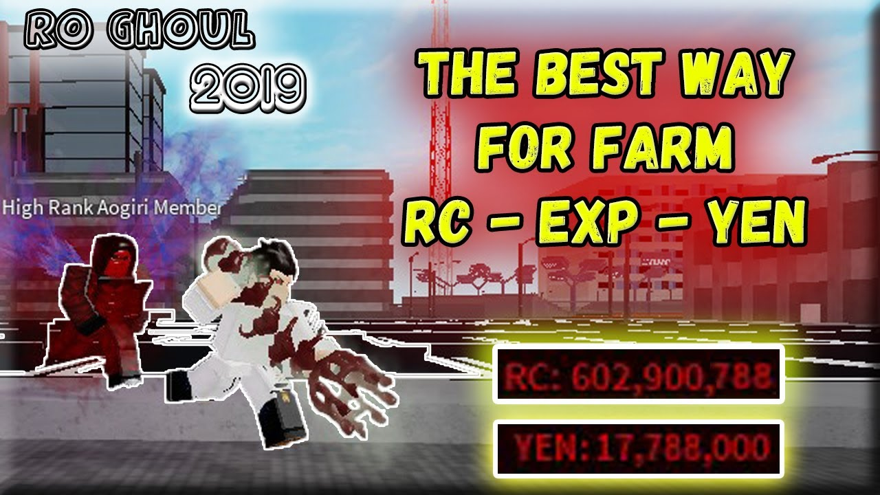 RO GHOUL - EASIEST way to get YEN & RC !! / Fast YEN and RC / Roblox