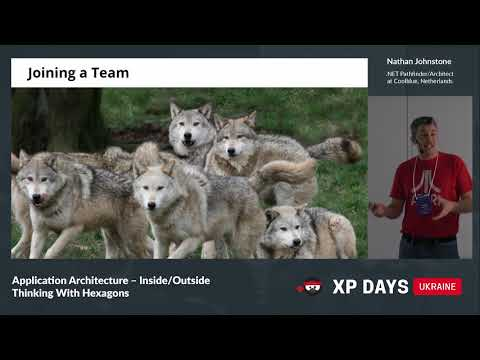 Application Architecture – Inside/Outside Thinking With Hexagons (Nathan Johnstone, Netherlands)