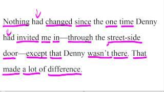Большой урок английского языка - Работа с текстом #5