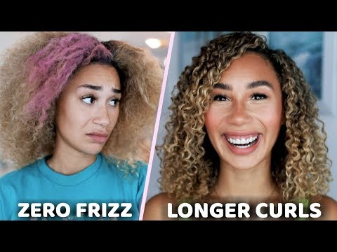 MY CURLY HAIR ROUTINE! How I Fixed My Dry Frizzy Hair | MyLifeAsEva