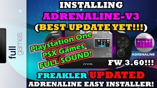 INSTALLING ADRENALINE-V3 BEST UPDATE YET! FREAKLER UPDATED ADRENALINE EASY INSTALLER V1.07!