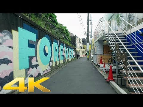 Walking around Harajuku, Tokyo Part2 - Long Take【東京・原宿2】 4K