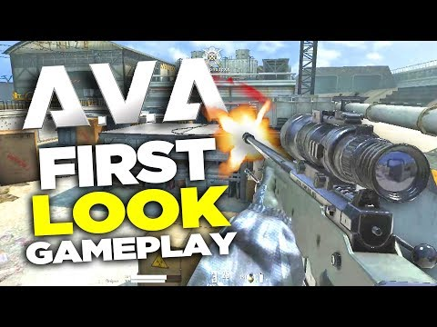 AVA Dog Tag GAMEPLAY REVIEW (Free FPS - First Look)