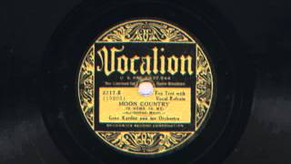Moon Country by Gene Kardos and his Orchestra, 1934