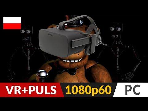 Five Nights at Freddy's VR PL 🦊 Czyli FNAF w wirtualnej rzeczywistości - pierwszy raz w życiu! :) thumbnail