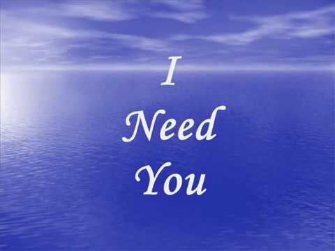 LeAnn Rimes I Need You Lyrics