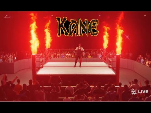 WWE 2K18 Kane New Veil of fire rise up remix Entrance