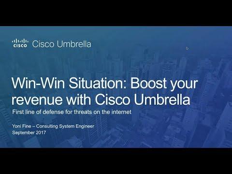 Cisco Umbrella - Partner Webinar with Yoni Fine