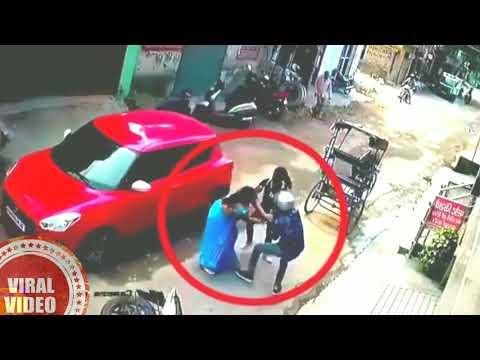 Chain snatching fail in delhi