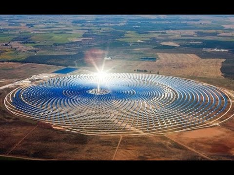 The World Largest Solar power Complex in Morocco   2016