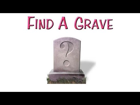 How to Use Find A Grave - YouTube