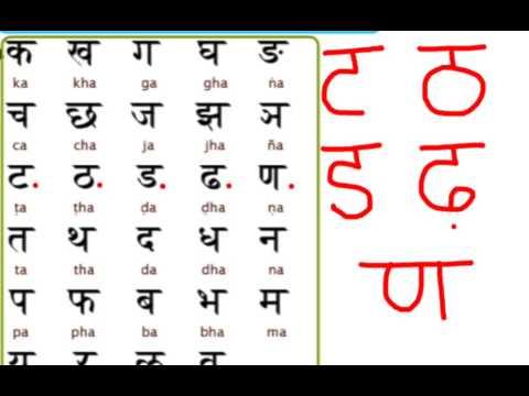 Learn hindi lesson 2 - Consonants- part 1