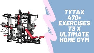 TYTAX 470+ Exercises T3 X Ultimate Home Gym | Amazon