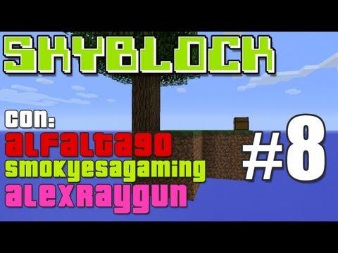 """SkyBlock Con Alfalta90 Y AlexRayGun Cap 8 """"GENERADOR DOBLE"""""""