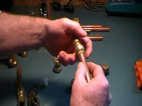 The Old Plumber Shows How To Join Copper Pipe Without