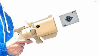 怪盗キッドのトランプ銃を作る/Making of Kid the Phantom Thief's Card Gun[Cardboard DIY] thumbnail
