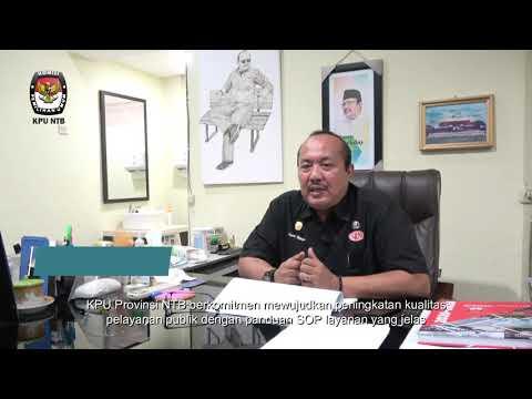 Tekmas KPU NTB RB/ZI: Komitmen meningkatkan pelayanan publik