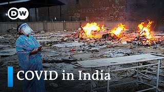 Download India records another record high in daily COVID deaths and infections | DW News
